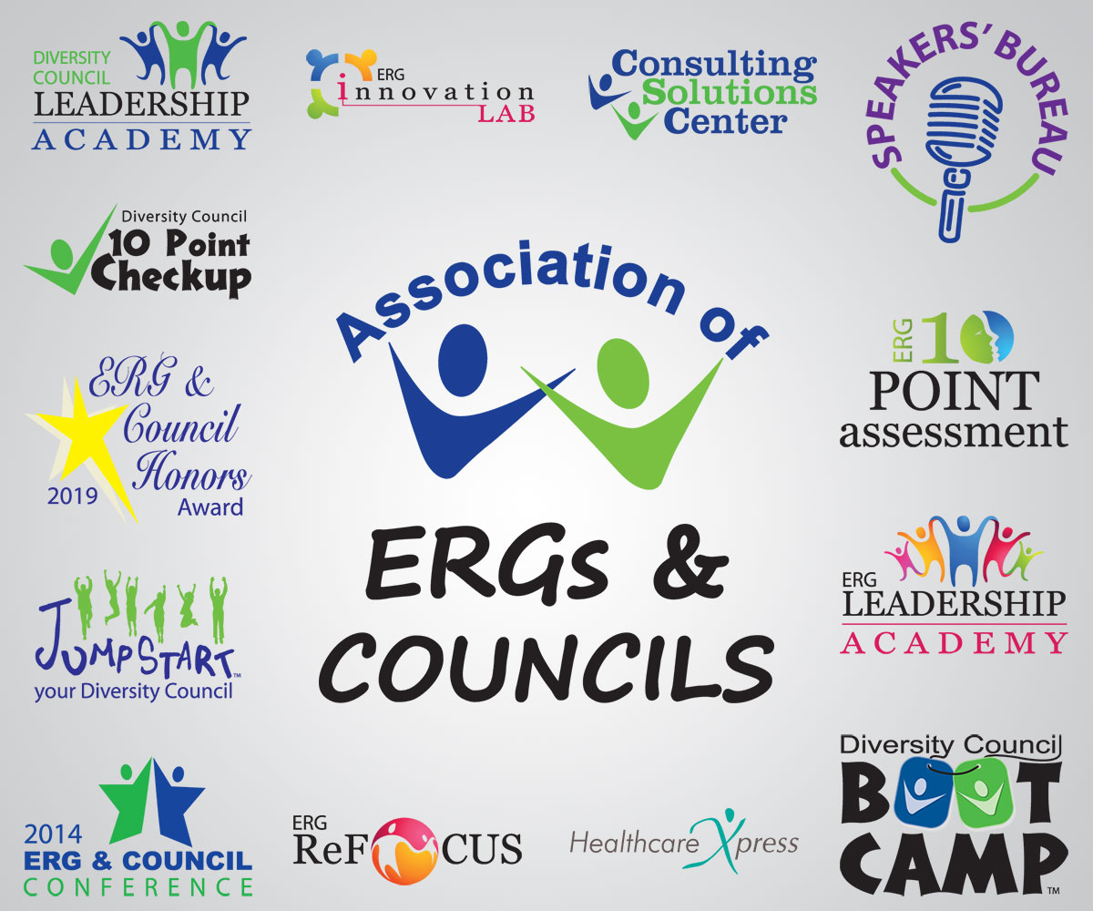 Association of ERGs & Diversity councils product logos